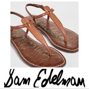 💕SALE💕 NWT Sam Edelman Tan Gigi Sandals
